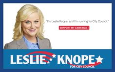 Leslie Knope is a true American she-ro!