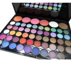 Paleta de 56  colores para los ojos!
