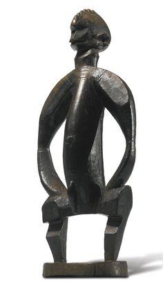 Senufo or Bamana Male Figure, Mali