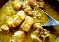 Ribs in green chile sauce | Costillas en chile verde | Recetas Mexicanas