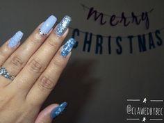 Follow me ! @clawedbybec  #nails #nailart #naildesigns #nailinspiration #trendingnails #2017nails #christmasnails #christmas #winter #winternails #coffinnails #taperedsquare #ballerinanails #gelnails #gelpolish #acrylicnails #nailpolish #instagramnails #dopenails #newset #grey #graynails