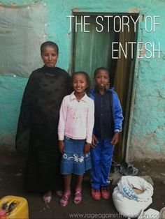 The story of a young mom in Ethiopia, struggling with HIV and a special needs son