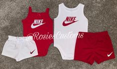 Boy/Girl Nike Inspired Outfit Set ❤️✔️ link in bio 🥰 Nike Baby Clothes, Carters Baby Clothes, Luxury Baby Clothes, Baby Nike Outfits, Babies Clothes, Babies Stuff, Newborn Girl Outfits, Kids Outfits Girls, Cute Outfits For Kids
