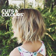 Blonde | Halflang haar | CUTS & COLOURS