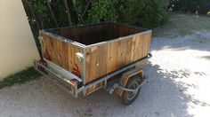 Trailer Makover With Recycled Pallet Wood • 1001 Pallets