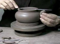 Yixing teapot video: Great video showing how Zhou Gui Zhen hand builds a Yixing teapot.  These traditional Chinese teapots have been made since the 16th century.  Amazing to watch a master potter do this.