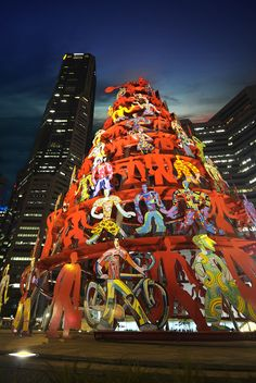Sculpture in the City #Singapore