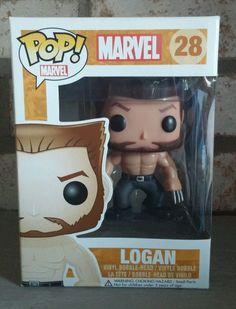 Funko Pop Marvel X-men Error Logan Unmasked Wolverine Non Bobble Rare Retired in Collectibles, Pinbacks, Bobbles, Lunchboxes, Bobbleheads, Nodders | eBay