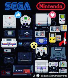 #Repost @deadpixelsretrogaming with @repostapp  D E A D  P I X E L S #retrogaming #pixels #videogame #retroconsoles #retrocollective #retrogaming #videogamers #retrogame #retrogamer #retrogames #gamersunite #gamers #nes #snes #n64 #segagenesis #segamegadrive #segamastersystem #dreamcast #gamegear #gameboy