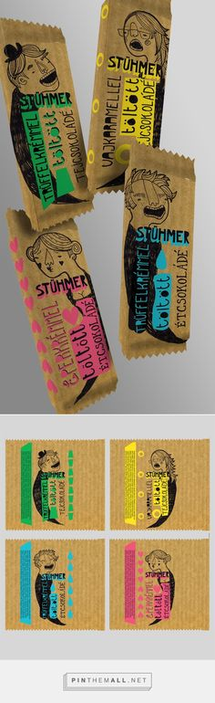 Package design for Stühmer chocolate on Behance by Lilla Bölecz curated by Packaging Diva PD.