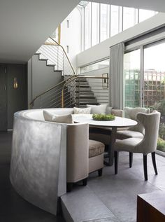 Central Park West, Manhattan - contemporary - dining room - new york - Foley Fiore Architecture