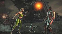 MKX Classic Fatalities Mortal Kombat Gif, Mortal Kombat Games, Sonya Blade, Mortal Combat, Super Powers, Coloring Books, Mk1, Comic Book, Videogames