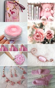 PINK IS PRECIOUS by Vickie Wade on Etsy--Pinned with TreasuryPin.com
