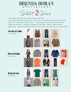 What to Wear in Fall Photos
