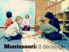 L'educazione Montessori è guidata da un obiettivo ambizioso: aiutare lo sviluppo del bambino verso unessere umano adulto, a proprio agio con se stesso, c