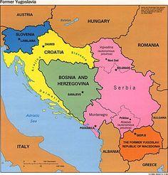 """Montenegro: """"Black Mountain"""" southeastern European country; coast on Adriatic Sea"""