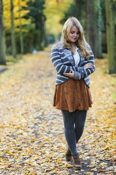 Outfit // Wildlederrock mit Knopfleiste - onefiftytwoblog