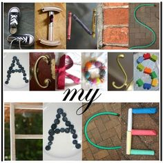 what if each student made one for the first letter of their name. so awesome