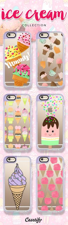 All you need is ice cream. Take a look at these designs featuring ice cream on our site now! https://www.casetify.com/search?keyword=ice+cream | @casetify