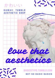 Love that AESTHETICS <3