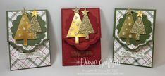 Lots of Labels Gift Card holders Dawn Griffith Stampin'Up!
