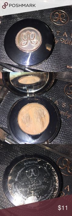 Anastasia Beverly Hills brow Duo Auburn Has been used but there's tons left scuffed up on the packaging due to being in my drawers Sephora Makeup Eyebrow Filler