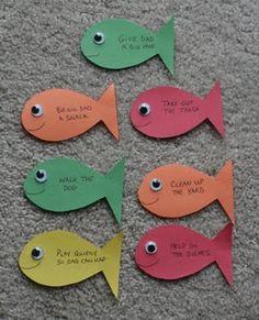 """Los niños y la Biblia: Manualidades """"La Pesca Milagrosa"""""""