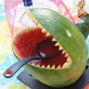 watermelon shark punch bowl.