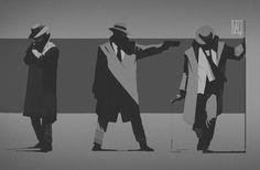 Noir, Valentin Demchenko on ArtStation at… Character Concept, Character Art, Concept Art, Comic Kunst, Comic Art, Mafia, Character Illustration, Illustration Art, Art Pulp