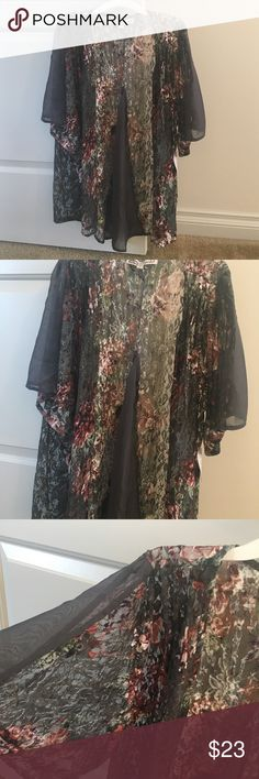 Lace kimono Brand new. Flare Sleeves Sweaters Cardigans