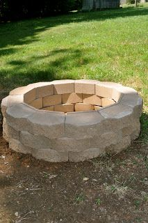 Build your own fire pit with pavers and our DIY burner found at: www.outdoorrooms.com/store/fire-pits-fireplaces/do-it-yourself.html