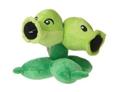 Plants vs. Zombies Split Pea Plush Toy (Green)