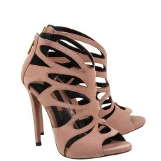 Acquarelashop - A primeira boutique online de sapatos do Brasil - Sandália Salto Alto Schutz Toasted