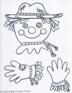 Free Printable Scarecrow Template | Printable Scarecrow Patterns Scarecrow Template Scarecrow