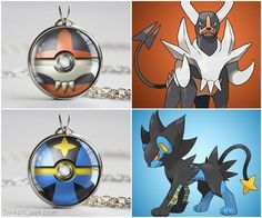 Awesome Pokeball Pendants. Gotta Catch Them All.