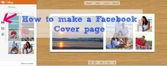 How to make a facebook cover picture for your timeline