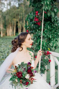 Bright Winter Romance Wedding Ideas