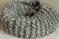 Piper-Classic Knit Infinity Scarf $20 by baysknits on Etsy available in butterscotch, ox blood red, cilantro, etc.