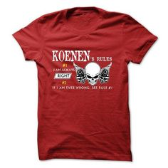 Sure KOENEN Always Right V1# #name #tshirts #KOENEN #gift #ideas #Popular #Everything #Videos #Shop #Animals #pets #Architecture #Art #Cars #motorcycles #Celebrities #DIY #crafts #Design #Education #Entertainment #Food #drink #Gardening #Geek #Hair #beauty #Health #fitness #History #Holidays #events #Home decor #Humor #Illustrations #posters #Kids #parenting #Men #Outdoors #Photography #Products #Quotes #Science #nature #Sports #Tattoos #Technology #Travel #Weddings #Women