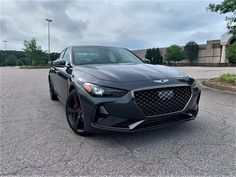 Genesis G70: Affordable, Luxury Sedan — Auto Trends Magazine Luxury Cars, Luxury Sedans, Matte Black Cars, Kia Stinger, Bmw 4 Series, Jaguar Xe, Hyundai Genesis, Trends Magazine, Fancy Cars