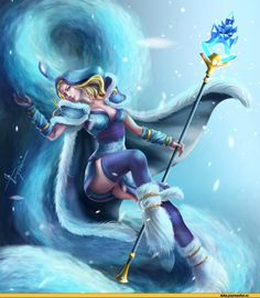 #Dota2 Dota,фэндомы,Rylai the Crystal Maiden,песочница