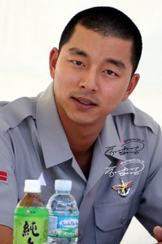 50 Reasons to Love Gong Yoo  @Felisha ReadsBooks, see he can pull off the soldier look too. =)