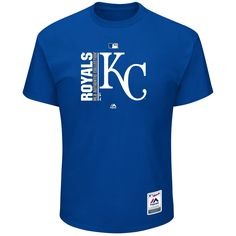 Kansas City Royals Men's Team Icon Clubhouse Short Sleeve T-Shirt by Majestic