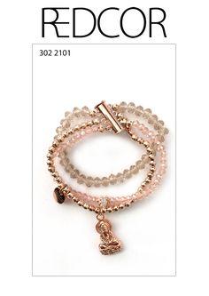 Redcor Armband, mit Liebe von Hand gefertigt! - Dreier Amrband, Buddha, Perlen