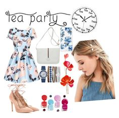 2nd iLook for Tea Party #fashion #polyvore #style #stylish by rindaf on Polyvore featuring polyvore fashion style Chi Chi Gianvito Rossi Gucci Jessica Carlyle Sonix Urban Outfitters clothing