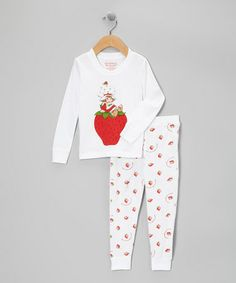 Take a look at this Red Strawberry Shortcake Pajama Set - Infant & Toddler by Strawberry Shortcake on #zulily today!