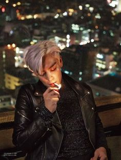 TOP   L'OFFICIEL HOMMES JANUARY '15 ISSUE -  STOP SMOKING BABY, IT'S NOT GOOD FOR YOOOOOU U_U