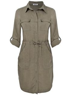 Shirt dress by Lazy Lu at House of Fraser