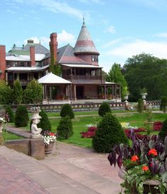 Sonnenberg Gardens and Mansion. Canandaigua, New York