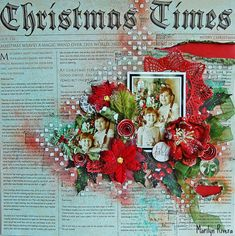 Marilyn Rivera-A video tutorial using the Dec Limited Edition kit by My Creating Scrapbook